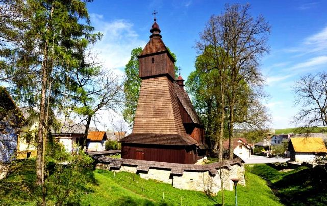 Деревянная архитектура словацких Карпат