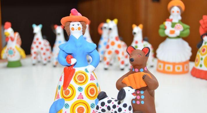 В Кировском музее дымковской игрушки