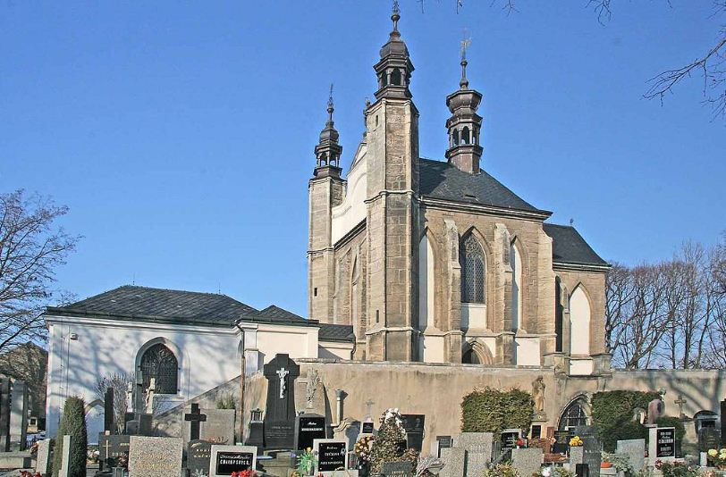 Костёл Костница в Седлице ( Чехия)