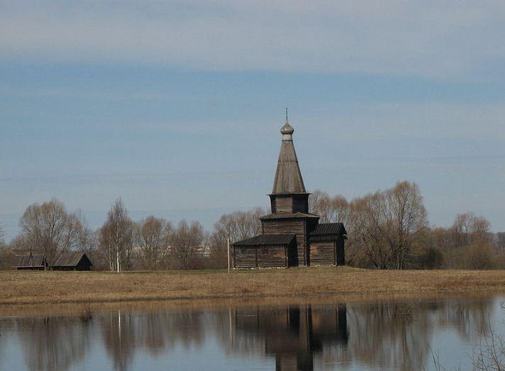 Церковь Успения из села Курицко, построенная в 1595 году.