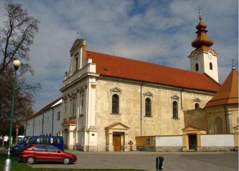 Церковь францисканцев в Братиславе.