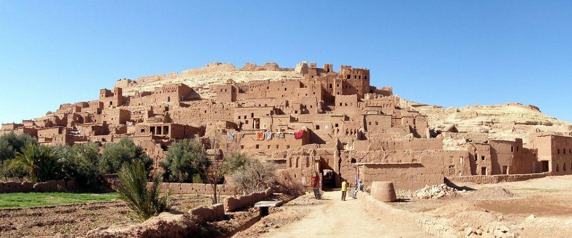 Укрепленные жилища - ксары в Айт - Бен - Хадду.