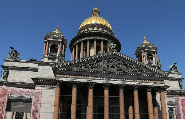 Исакиевский собор в Санкт - Петербурге.