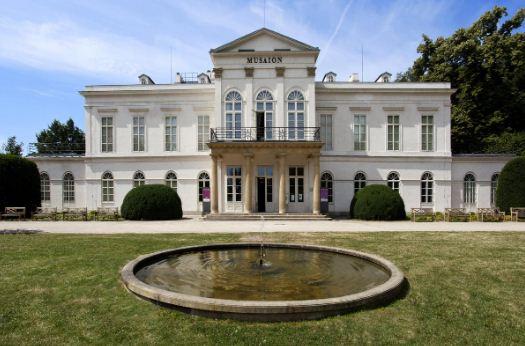 Летний дворец - вилла Кинских в Праге