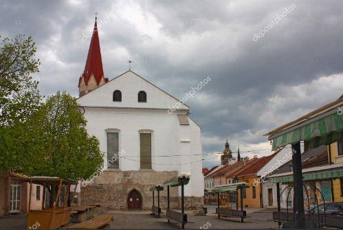 Доминиканская площадь с монастырем в Кошицах