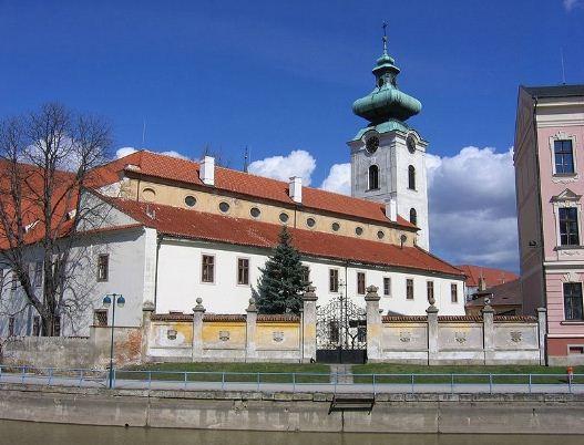 Доминиканский монастырь и церковь Обетования Девы Марии в Ческе - Будейовице.