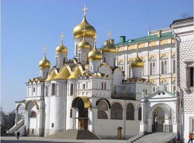 Благовещенский собор Московского Кремля.