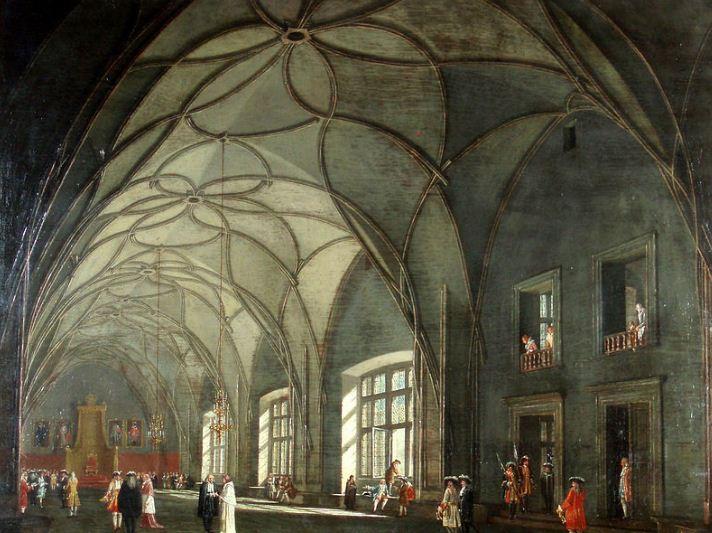 Владиславский зал в старом королевском дворце ( Пражский Град)