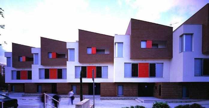 Блокированные дома в Испании.