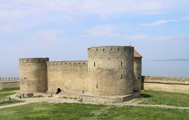 Цитадель Белгород - Днестровской крепости.