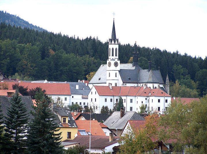 Вышебродский монастырь в Чехии