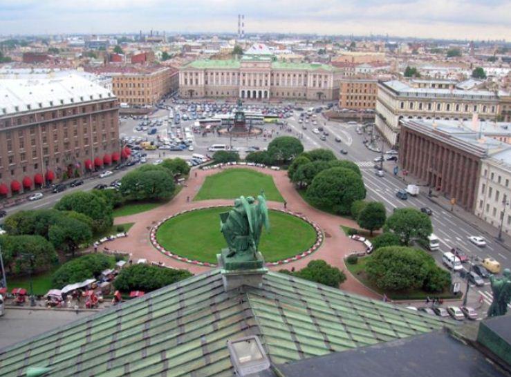 Ансамбль Исакиевской площади в Санкт - Петербурге