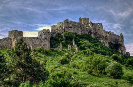 """Замок """" Спишский град"""" ( Словакия)"""