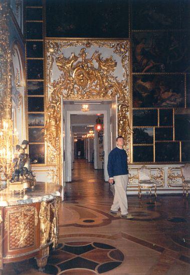 Анфилада залов в Екатерининском дворце ( Пушкино).