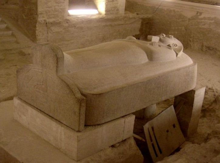 Саркофаг фараона Мернептаха