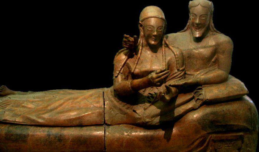 Этрусский супружеский саркофаг