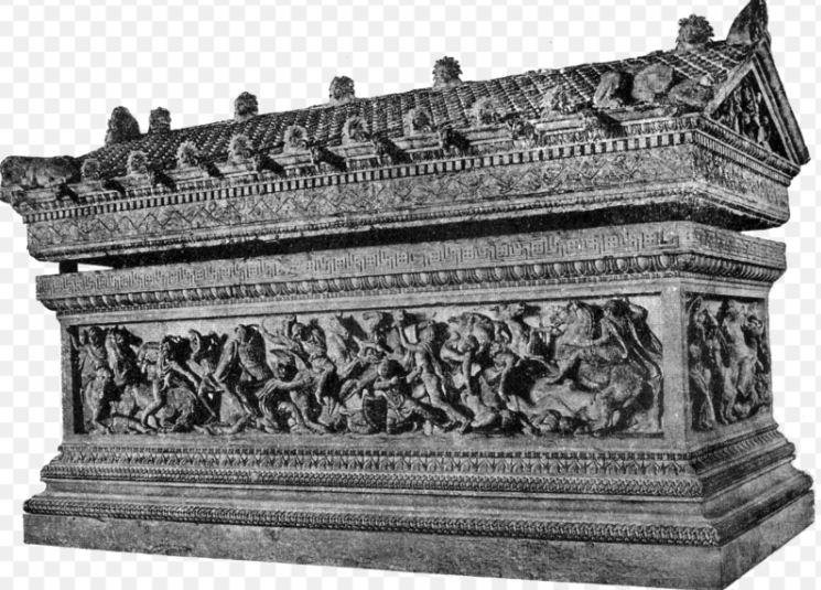 Сидонский саркофаг царя Абдалонима