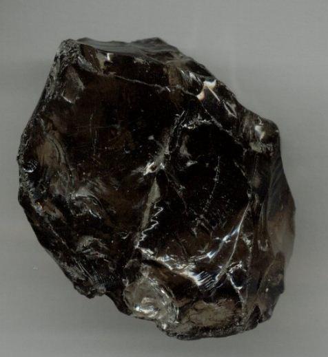 Морион - черный хрусталь