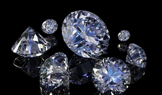 Природный драгоценный камень алмаз