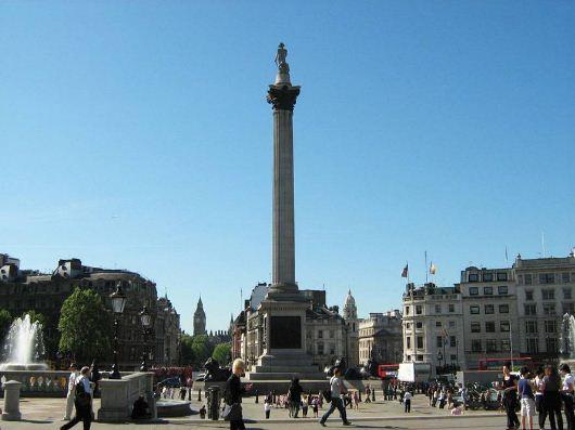 Колонна Нельсона в Лондоне