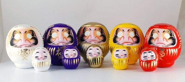 Японские фигурки с вкладышами
