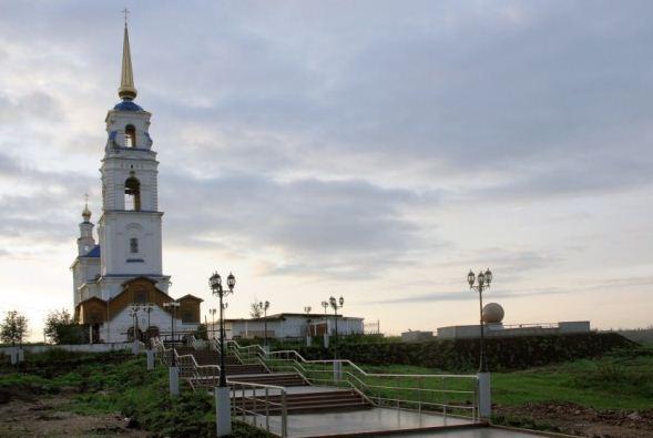 Церковь святых апостолов Петра и Павла в Североуральске