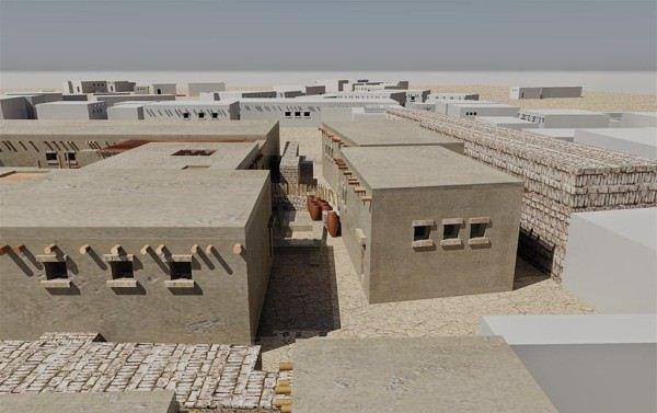 Дома древних египтян ( реконструкция 3 D).