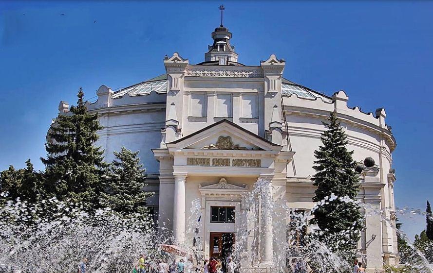 Здание севастопольской панорамы в наши дни.