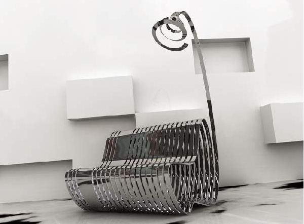 Эксклюзивная дизайнерская мебель из металла