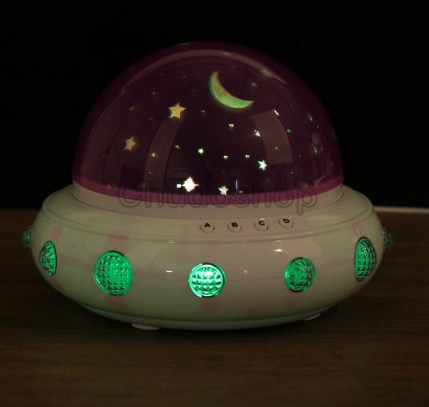 """Светильник - проектор Risalux """" Инопланетный корабль""""."""