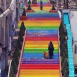 радужная лестница