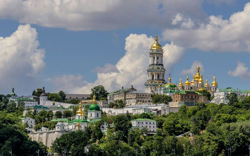 Ансамбль Киево - Печерской Лавры