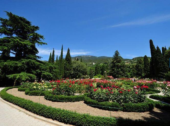 Уникальный ландшафтный дизайн Никитского ботанического сада.