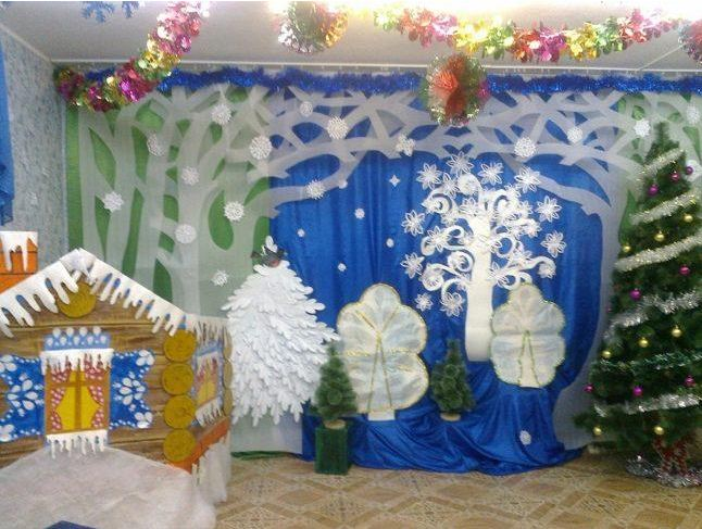 Вариант оформления музыкального зала в детском саду