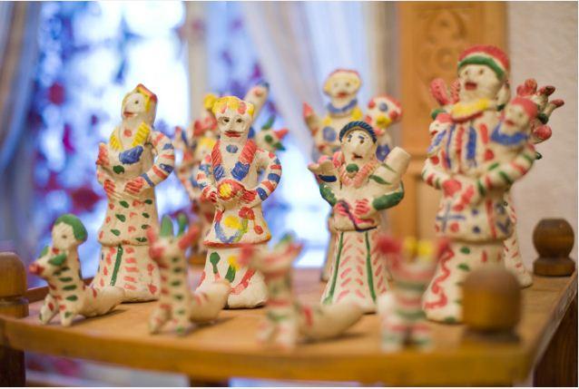 Хлудневские игрушки на выставке
