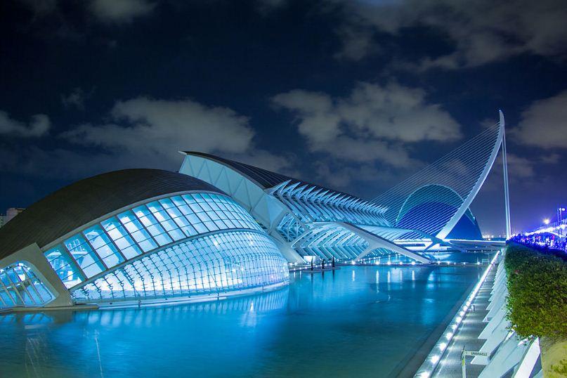 Архитектурный комплекс - Город искусств и наук