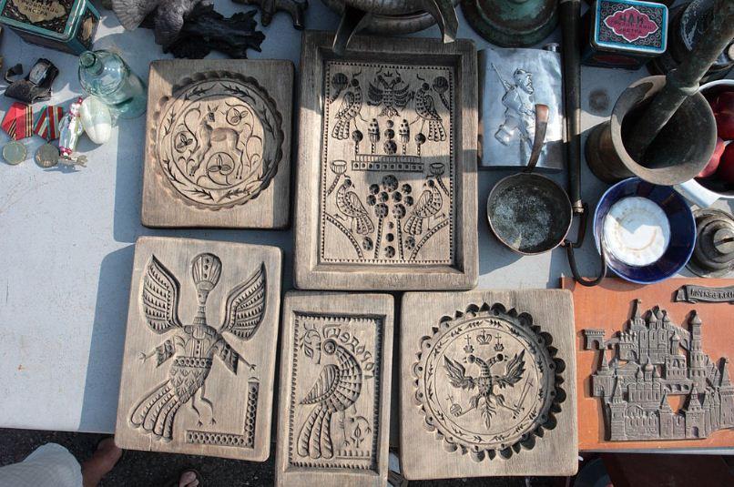 Городецкие доски для печатных пряников