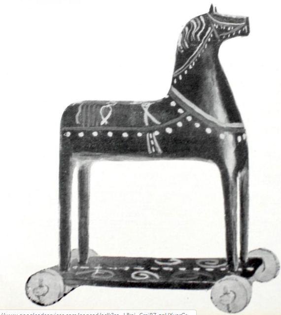 Конь. Великий Устюг. Начало XX века.
