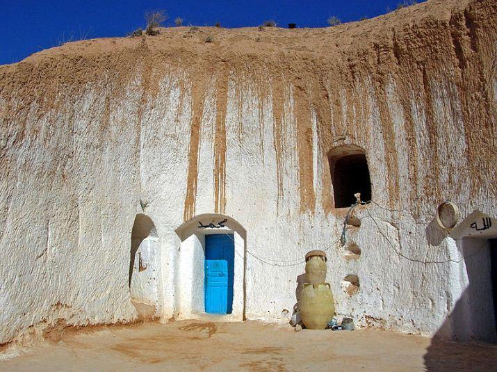 Традиционный дом берберской семьи